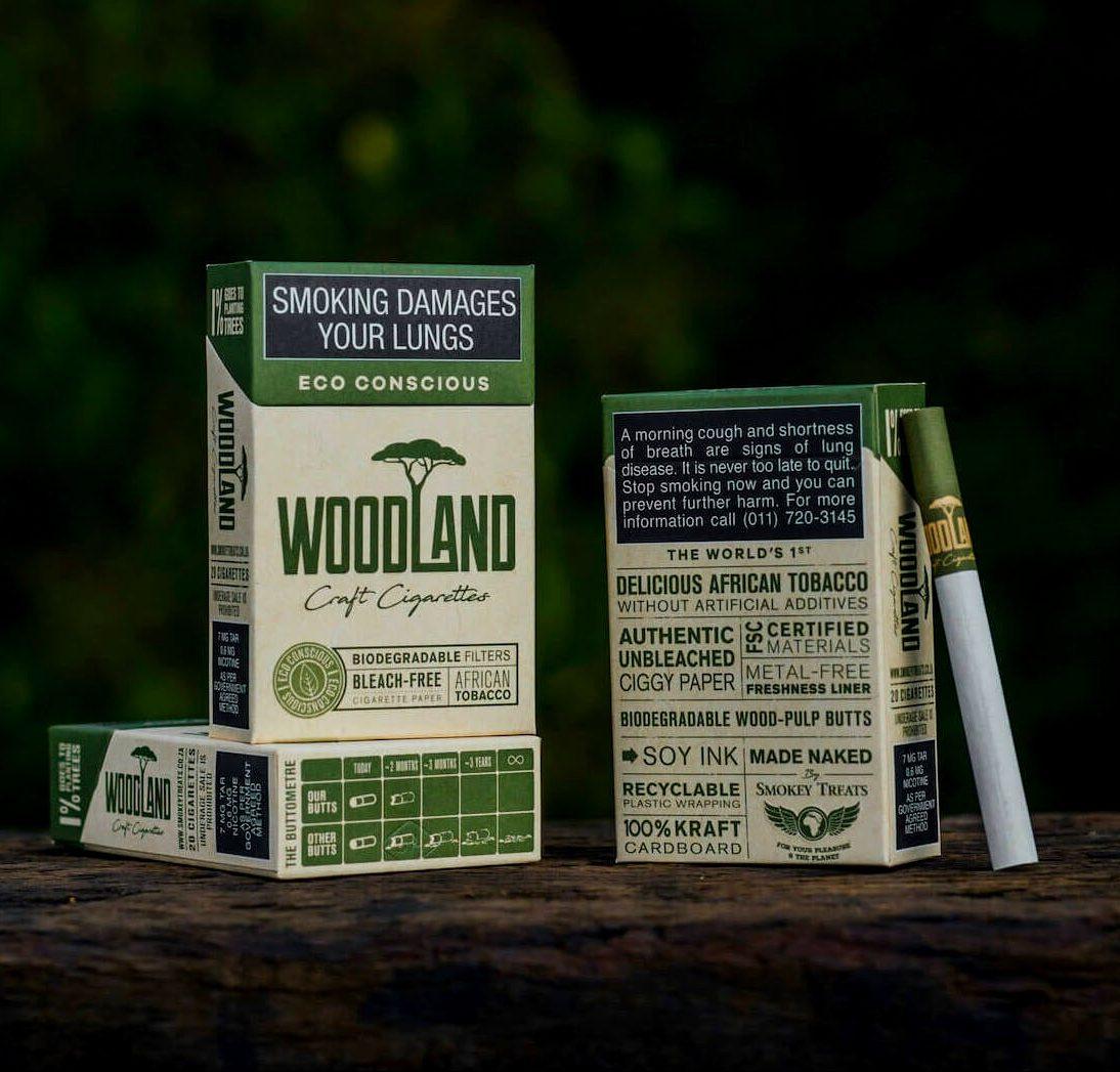 Woodland Cigarettes Biodegradable smokey treats